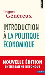 Vente Livre Numérique : Introduction à la politique économique  - Jacques Généreux