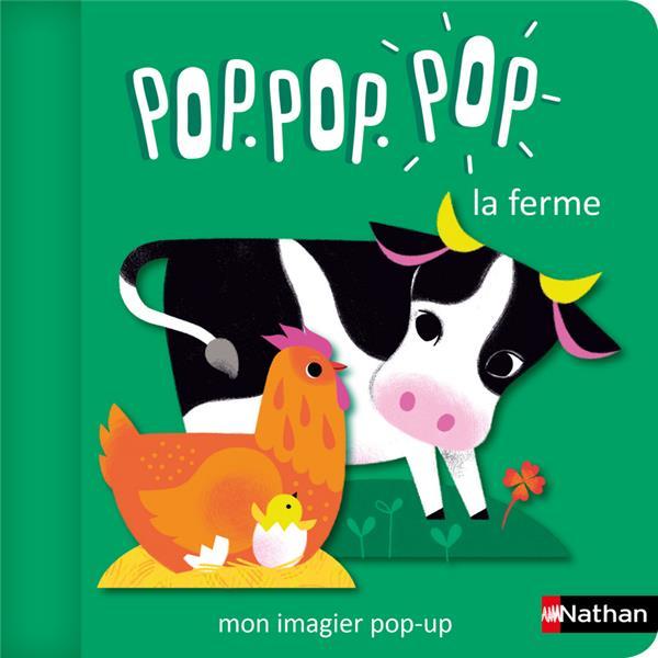 POP.POP.POP LA FERME : MON IMAGIER POP-UP