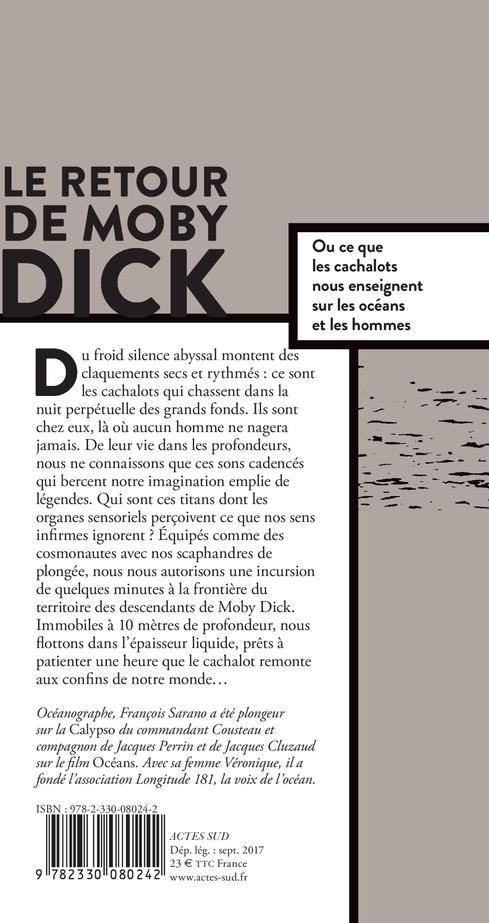 le retour de Moby Dick, ou ce que les cachalots nous enseignent sur les océans et les hommes
