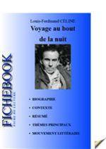 Vente Livre Numérique : Fiche de lecture Voyage au bout de la nuit  - Louis-ferdinand Céline
