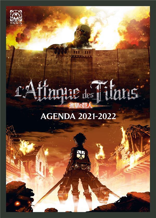 L'attaque des titans ; agenda (édition 2021/2022)