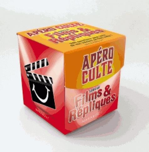 Mini-boîte apéro culte ; spécial films et répliques