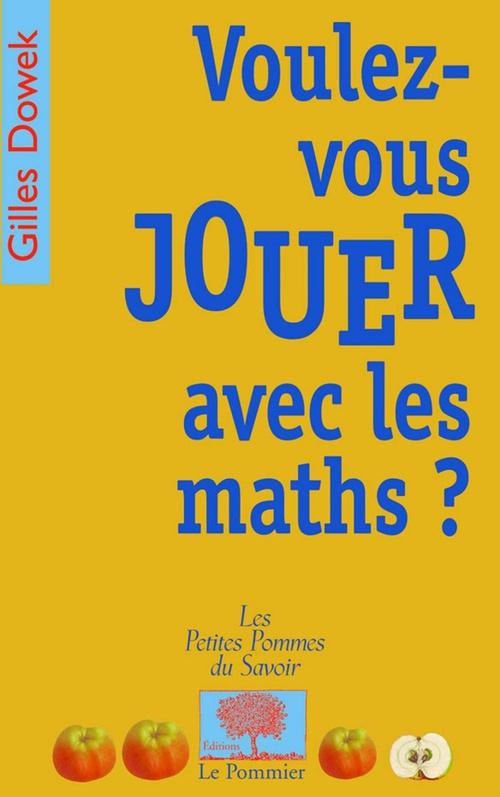Voulez-vous jouer avec les maths ?