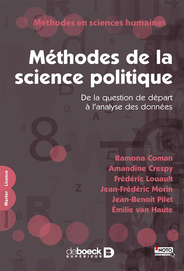 Méthodes de la science politique ; de la question de départ à l'analyse des données
