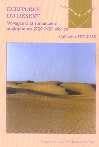 Ecriture du desert