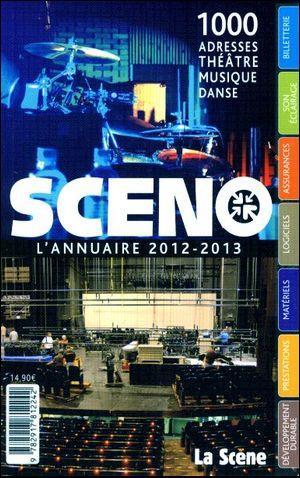 Sceno - l'annuaire 2012-2013