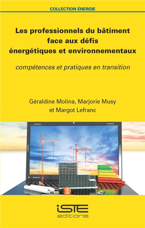 Les professionnels du bâtiment face aux défis énergétiques et environnementaux ; compétences et pratiques en transition