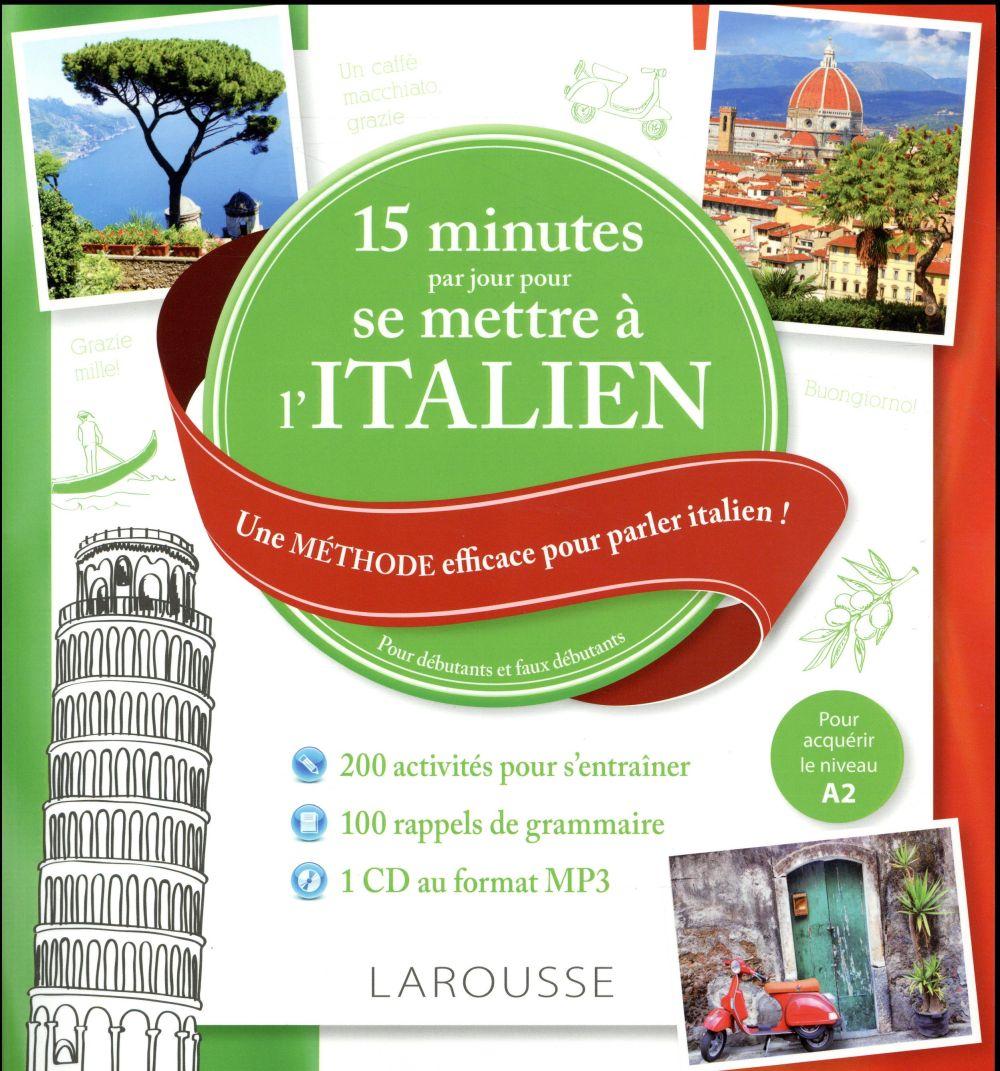 15 mn par jour pour se mettre à l'italien