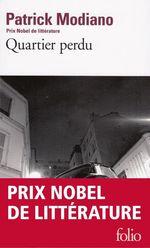 Vente Livre Numérique : Quartier perdu  - Patrick Modiano