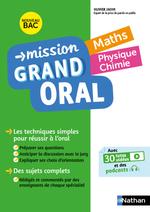 Vente Livre Numérique : Mission Grand Oral - Maths / Physique Chimie - Terminale - Nouveau Bac  - Nicolas Coppens - Pierre-Antoine Desrousseaux - Olivier Jaoui