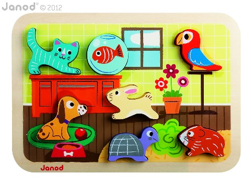 JANOD CHUNKY PUZZLE ANIMO'