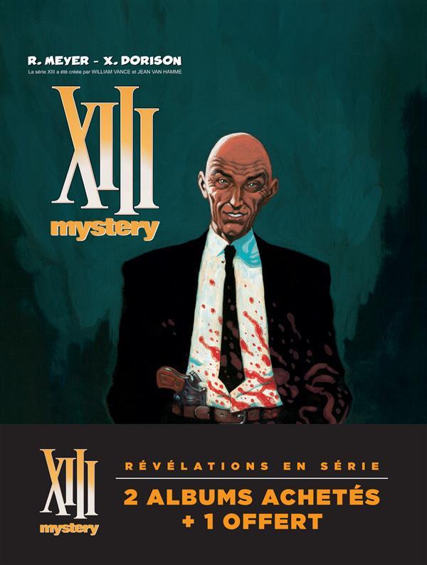 XIII Mystery ; COFFRET VOL.1 ; T.1 A T.3