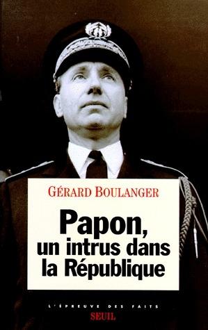 Papon, un intrus dans la republique