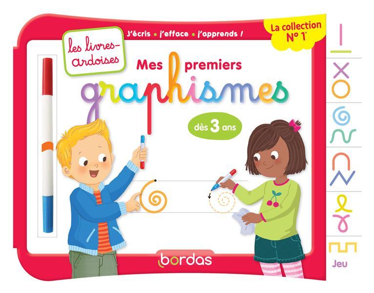 Les Livres-Ardoises ; Mes Premiers Graphismes ; A Partir De 3 Ans (Edition 2017)