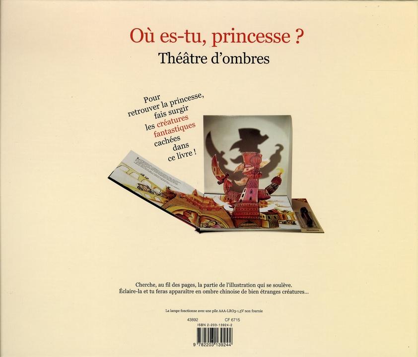 le théâtre d'ombres t.2 ; où es-tu princesse ?