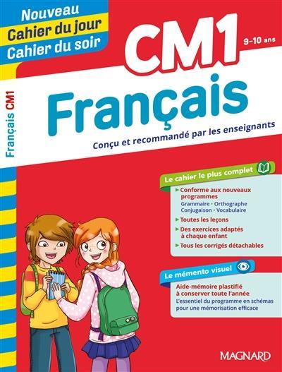 Cahiers du jour/ soir ; français ; CM1