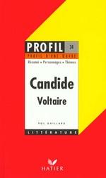 Couverture de Candide, de Voltaire - Profil d'une Oeuvre