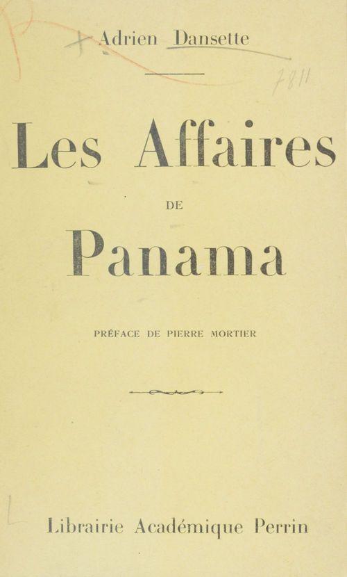 Les affaires de Panama