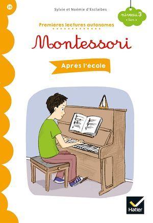 Premières lectures autonomes Montessori ; après l'école