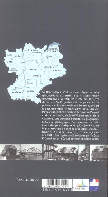 Guide rhone-alpes de l'architecture du  xxe siecle