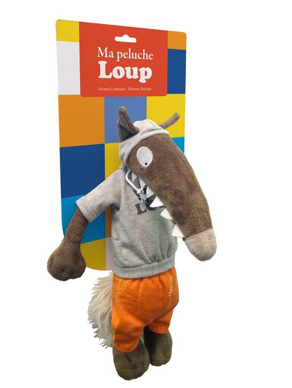 Ma peluche Loup habillée ; sportswear