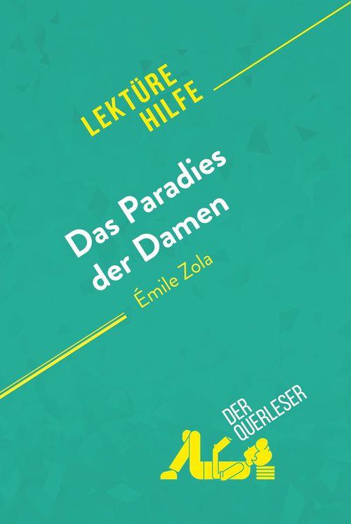Das Paradies der Damen von Émile Zola (Lektürehilfe)