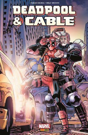 Deadpool et Cable ; fraction de seconde