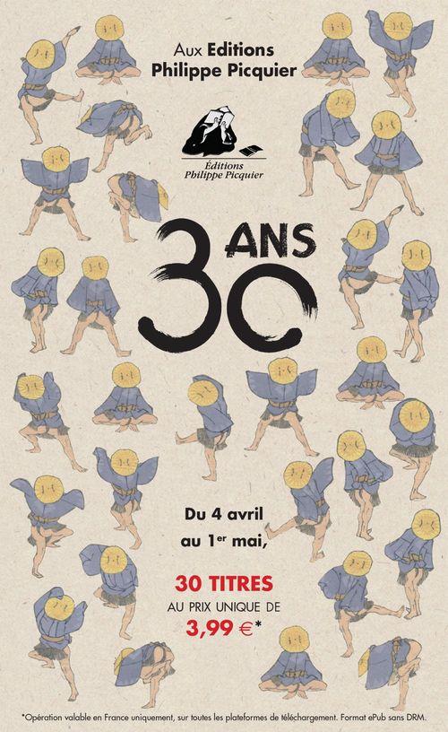 Catalogue 30 ans des Editions Philippe Picquier