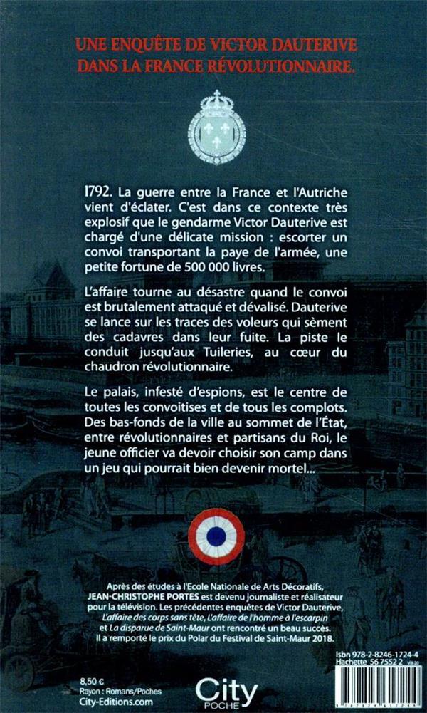 Les enquêtes de Victor Dauterive T.4 ; l'espion des Tuileries