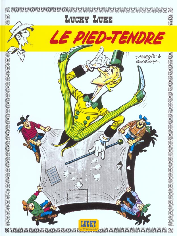 Lucky Luke T.2 ; le Pied-Tendre