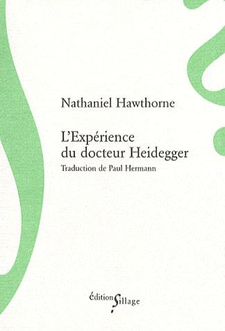 L'expérience du docteur Heidegger