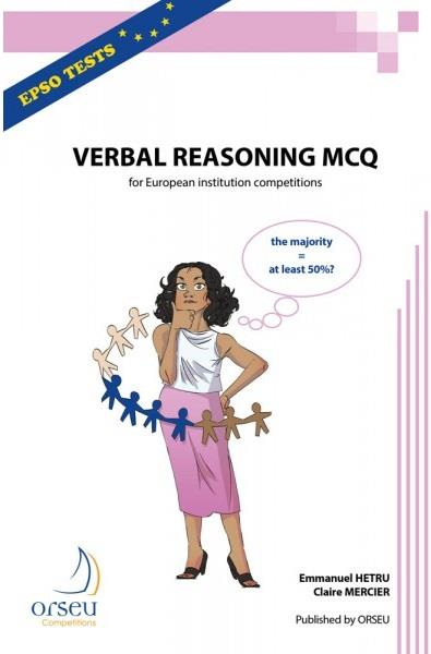 verbal reasoning mcq 2019 for european institution competitions