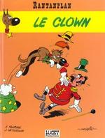 Couverture de Rantanplan t.4 ; le clown