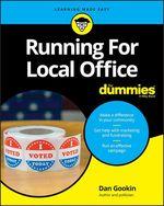 Vente Livre Numérique : Running For Local Office For Dummies  - Dan Gookin