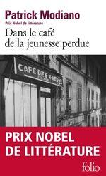 Vente Livre Numérique : Dans le café de la jeunesse perdue  - Patrick Modiano