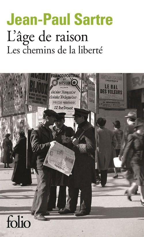 L'âge de raison  - Jean-Paul Sartre