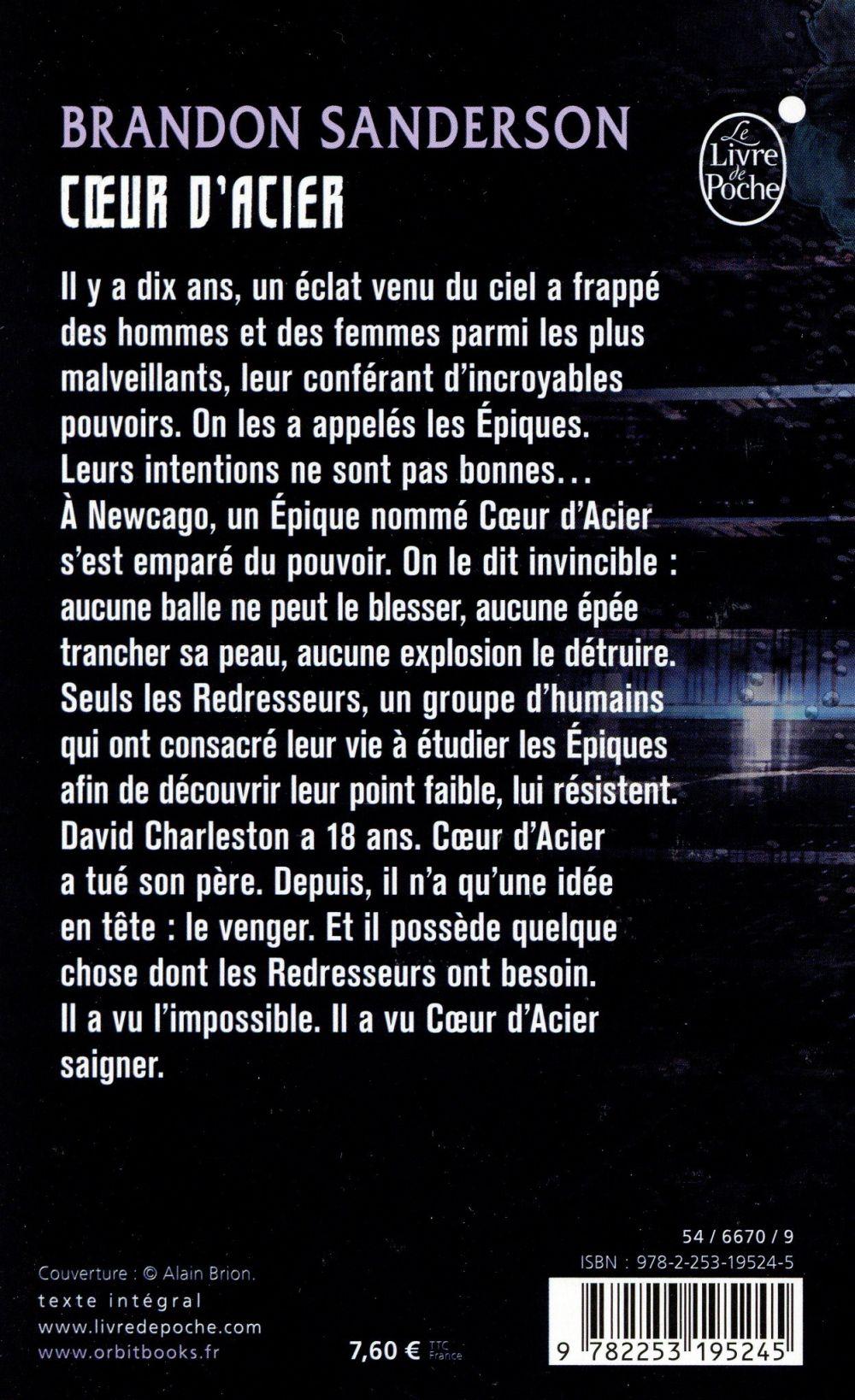 Coeur d'Acier t.1