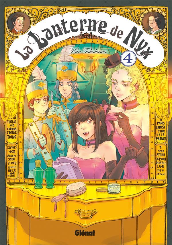 La Lanterne De Nyx T.4