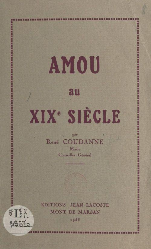 Amou au XIXe siècle
