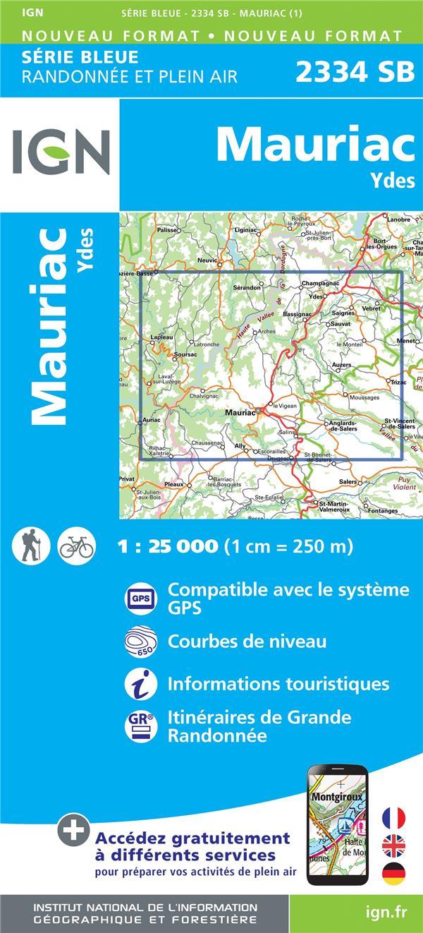 2334SB ; Mauriac, Ydes