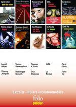 Vente Livre Numérique : EXTRAITS - Polars incontournables Folio Policier  - Dominique Manotti - DOA - Thomas H. Cook - Ingrid Astier - Caryl Ferey - Thierry Jonquet - Elsa Marpeau - Tonino Benacquista