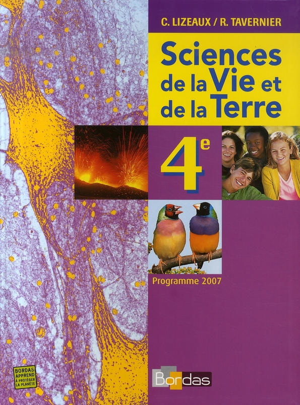 Svt 4e Manuel 2007