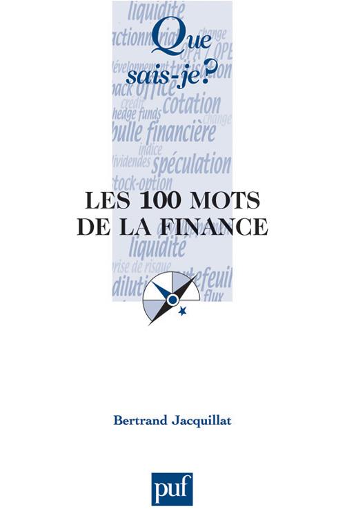 Les 100 mots de la finance (2e édition)