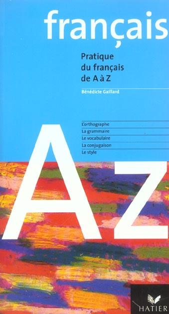 Le Francais De A A Z