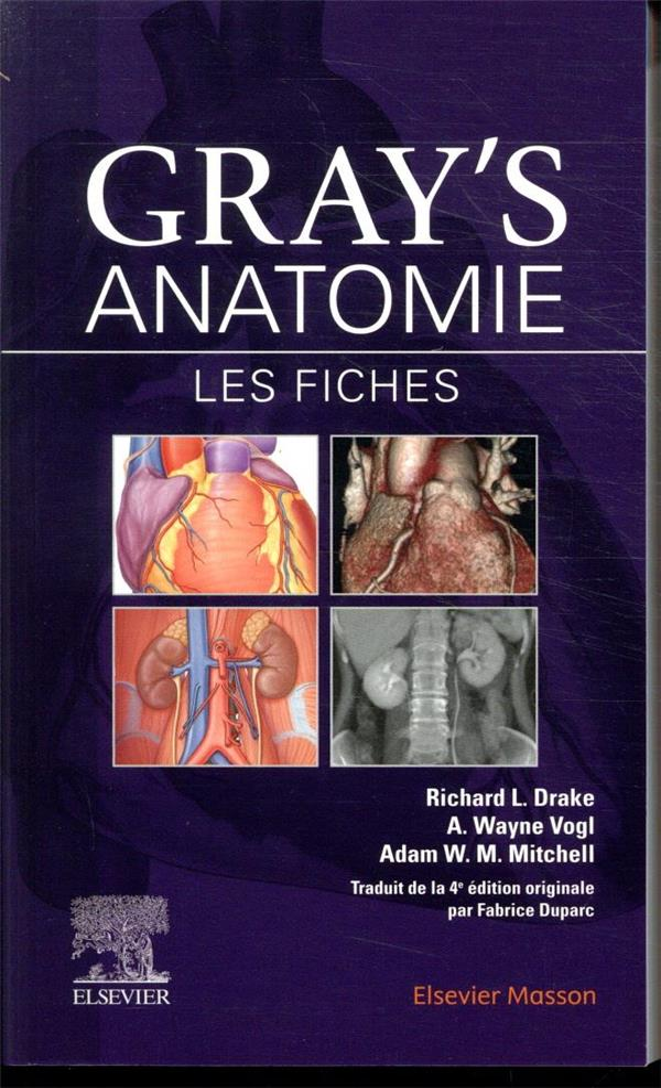 GRAY'S ANATOMIE  -  LES FICHES (3E EDITION)