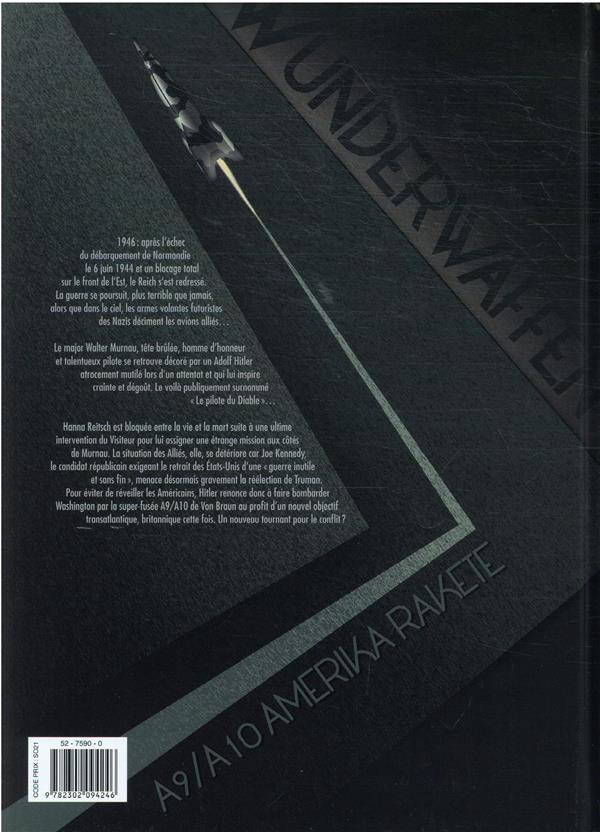 Wunderwaffen t.18 ; entre la vie et la mort