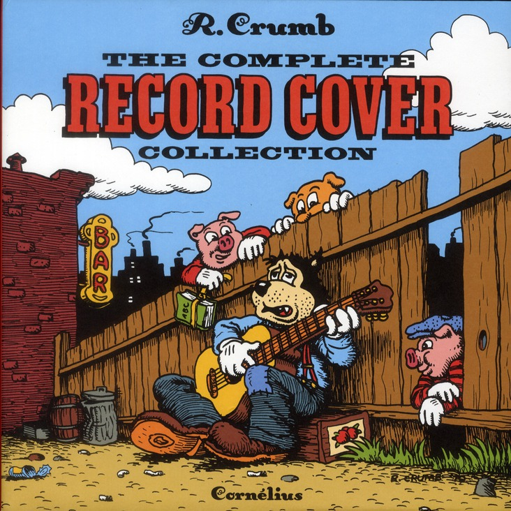 Crumb's record cover collection