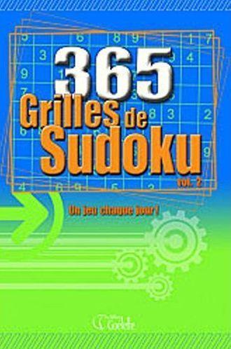365 Grilles De Sudoku T.2