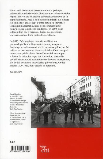 Debout et libres ! la CGT dans l'aéronautique nazairienne (1923-2010)