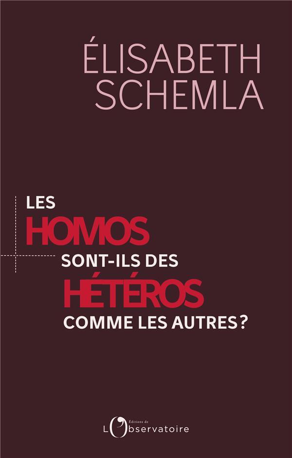 Les homos sont des héteros comme les autres
